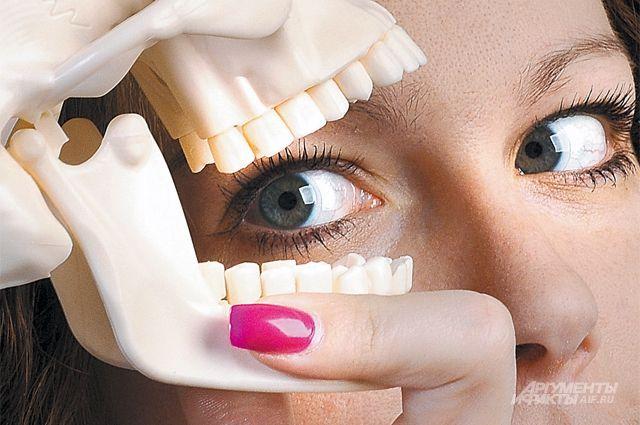 За здоровьем зубов нужно следить в любом возрасте.