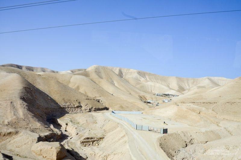 По дороге на реку Иордан.