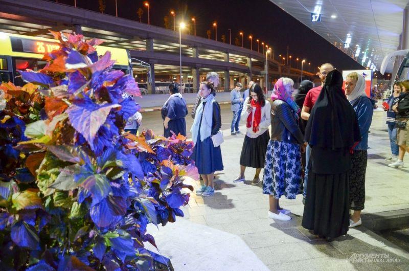 В аэропорту «Бен Гурион» после прилета в Израиль.