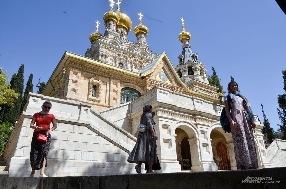 Гефсиманский монастырь Марии Магдалины.