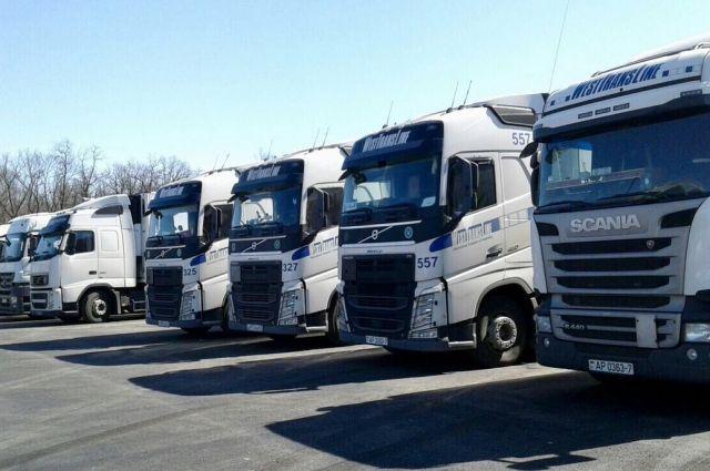 12 фургонов сгазоном для «Самара Арены» прибыли настадион