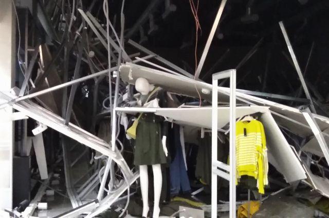 Случилось обрушение торгово-развлекательного комплекса вЧелябинской области