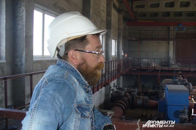 Строительство насосной станции «Майская» завершат в нынешнем году.
