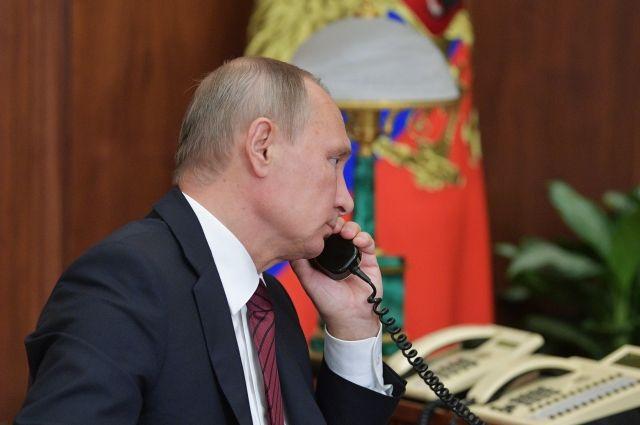 Путин обсудил сРухани ракетный удар США поСирии