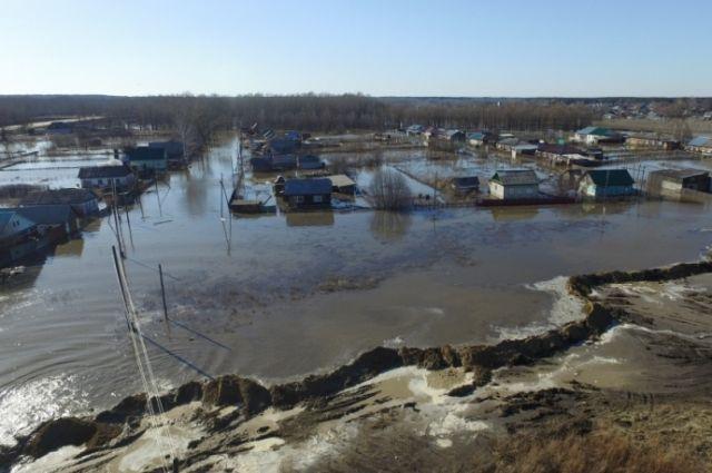 Паводок в Тальменке