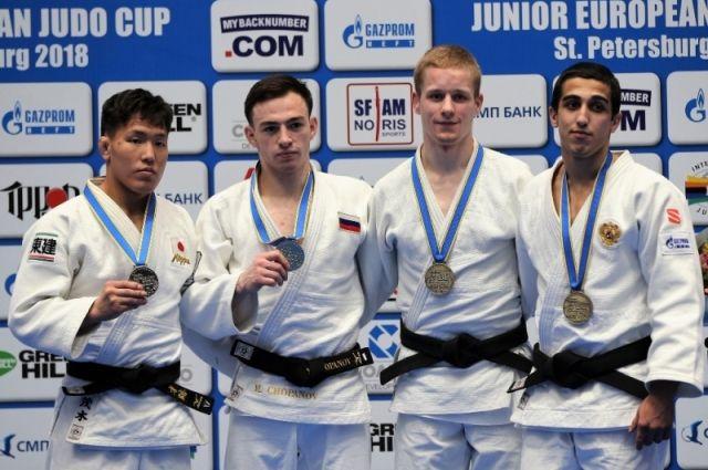 Тюменцы— призеры юниорского Кубка Европы подзюдо