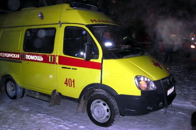 В Тюмени водитель иномарки потерял управление и съехал в кювет
