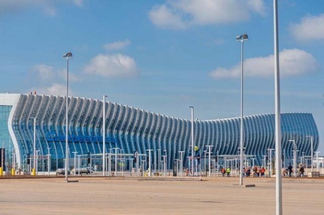 Руководство аэропорта Симферополя рассчитывает , что новый терминал окупится за15 лет