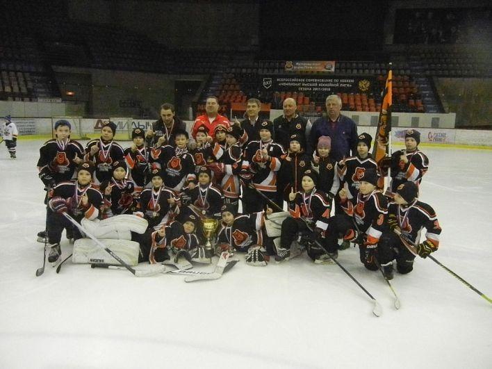 Пермские мальчишки - победители домашнего турнира.
