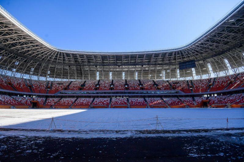 «Мордовия Арена». 21 апреля «Мордовия» на своем поле встретится с клубом «Зенит-Ижевск».