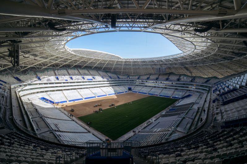 «Самара Арена». Первый тестовый матч состоится 28 апреля 2018 года.