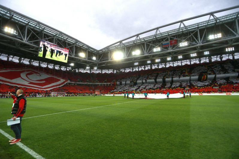 «Спартак», Москва. Матч открытия состоялся 5 сентября 2014 года, когда «Спартак» Москва сыграл с «Црвеной Звездой» (1:1).