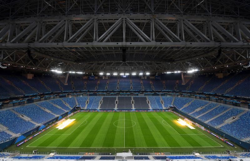 «Санкт-Петербург». Первый официальный матч стадиона состоялся 22 апреля 2017 года. В 24-м туре чемпионата России «Зенит» принял «Урал».