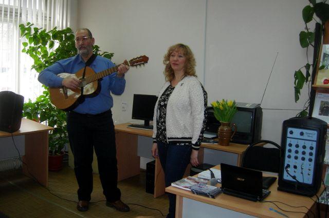 В тюменской библиотеке прошла встреча с местными писателями