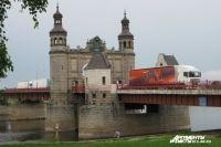 В Советске начинается ремонт моста между РФ и Литвой.