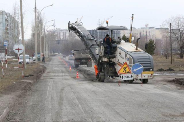 В областном центре начали ремонтировать проспект Московский.