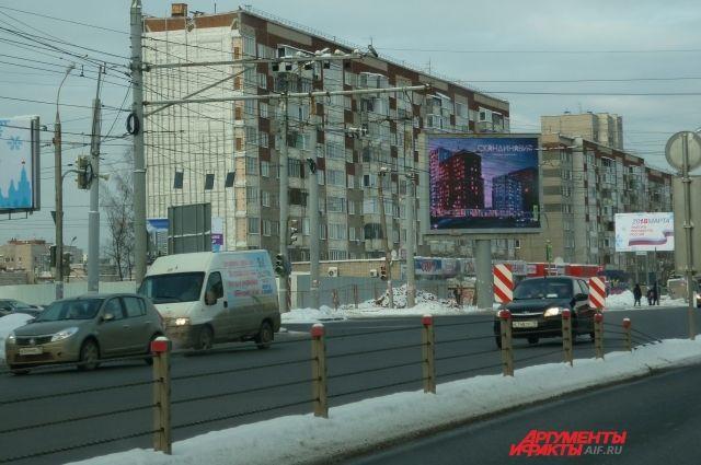 На остальных дорогах разметку нанесут, когда в городе установятся постоянные круглосуточные плюсовые температуры.