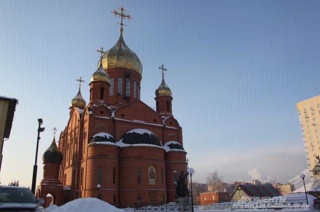 Возле Знаменского Собора в Кемерове появится скульптура Петра и Февронии.