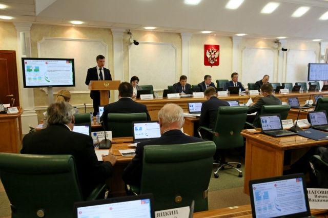 ВСовете Федерации обсудили перспективы социально-экономического развития Заполярья