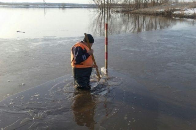 Паводок-2018: в Оренбуржье снижается уровень воды в реках.