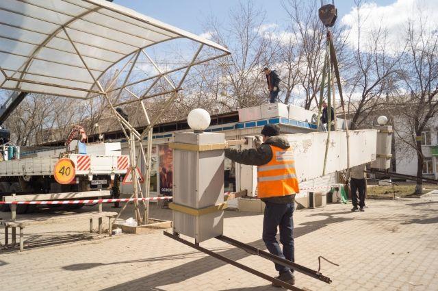 Городские власти приняли решение о сносе торговых павильонов.