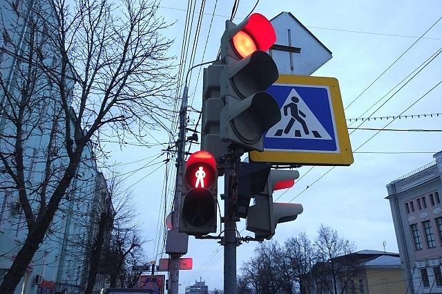 НаМаркса вОмске сделают светофор для студентов