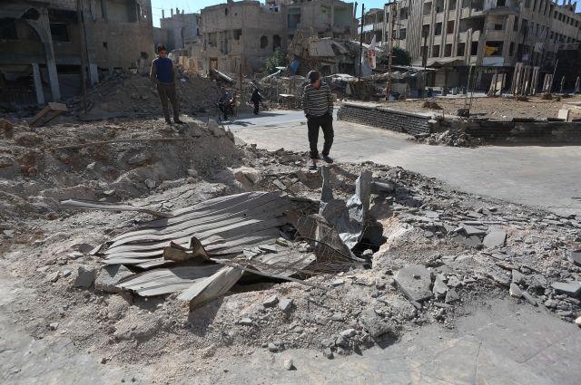 Специалисты ОЗХО прибыли всирийский город Думу