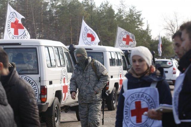 Красный Крест могбы посодействовать спенсиями маломобильным жителям неподконтрольного Донбасса
