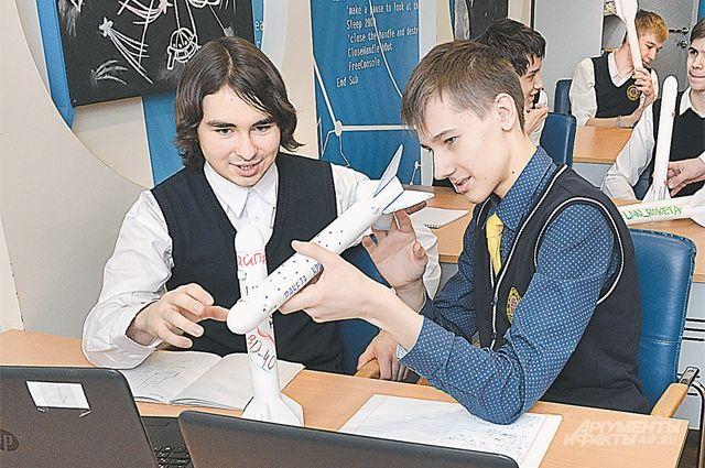 Завтрашние инженеры-ракетостроители тренируются в «Мосгормаше».