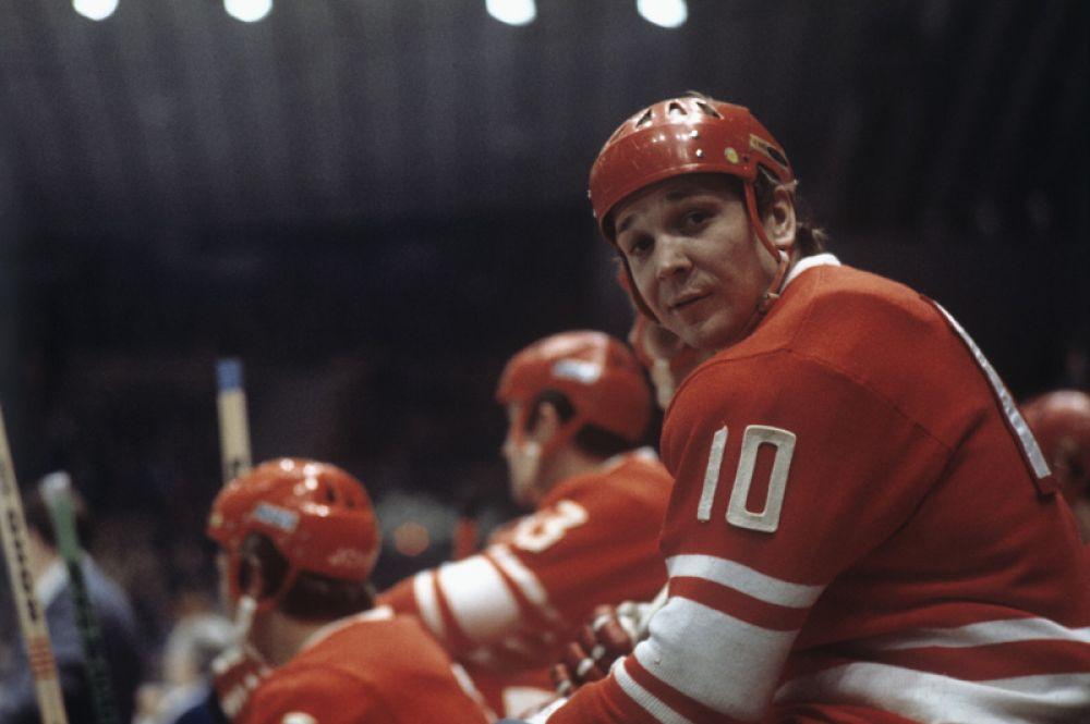 Александр Мальцев, хоккей с шайбой. Двукратный олимпийский чемпион (1972, 1976). Девятикратный чемпион мира (1969-1983). Восьмикратный чемпион Европы (1969-1983).