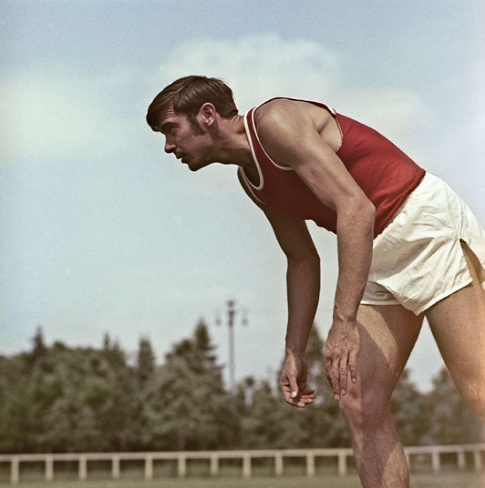 Виктор Санеев, легкая атлетика. Единственный в истории вида спорта трехкратный олимпийский чемпион в тройном прыжке (1968-1976). Двукратный чемпион Европы. Восьмикратный чемпион СССР. Трехкратный рекордсмен мира.