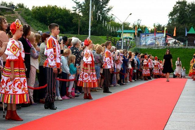 Открытие Шукшинского кинофестиваля в Барнауле в 2017 году