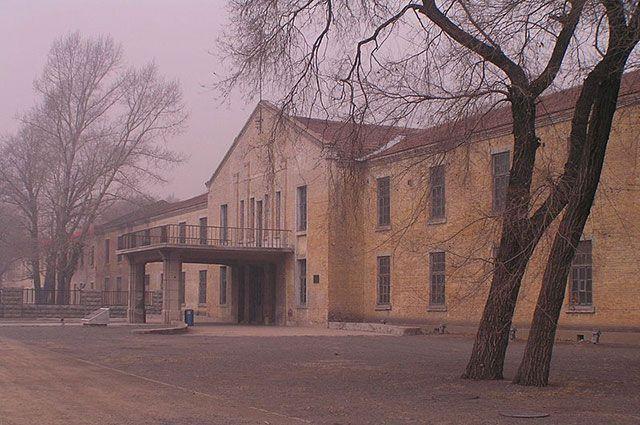 Одно из зданий лаборатории «Отряда 731» в Харбине.