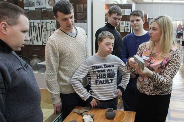 В экспозиции Белгородского историко-краеведческого музея представлены древние находки.