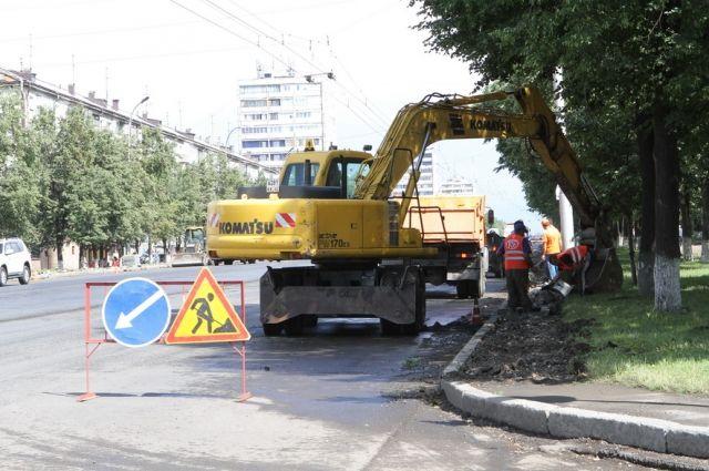 В Кемерове планируют отремонтировать некоторые тротуары в 2018 году.