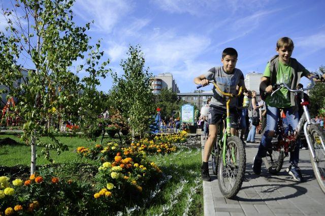 на территории общественных пространств появятся новые цветники и клумбы.