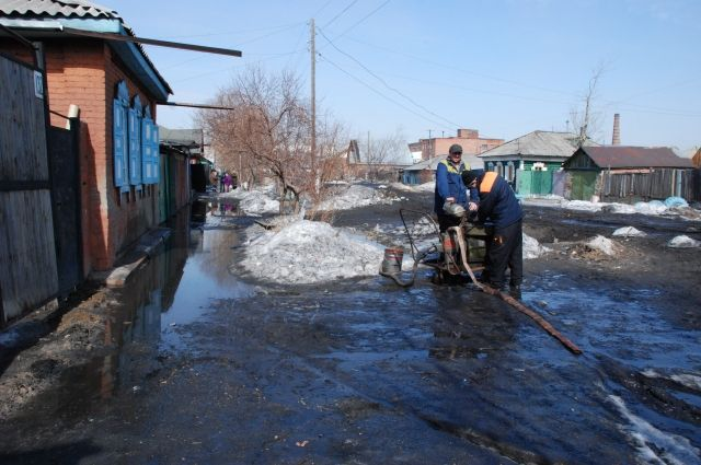 К паводку традиционно готовят насосы для откачки воды.