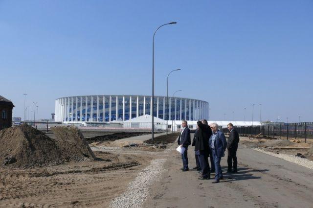 Комиссия по развитию города проверила строящиеся в Нижнем объекты к ЧМ.