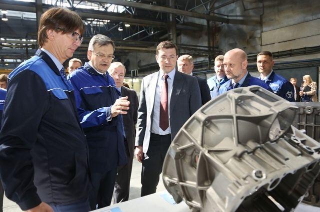 Глава региона отметил, что Заволжье должно стать одним из ведущих российских центров локализации производства автокомпонентов.