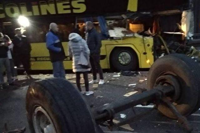 ВЧехии колесная ось врезалась вавтобус сукраинцами: есть раненые