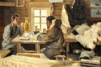 Картины Борисова - иллюстрации жизни на Новой Земле в 19 веке