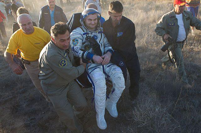 В сентябре 2016 года Алексей Овчинин вернулся из первого космического полёта.