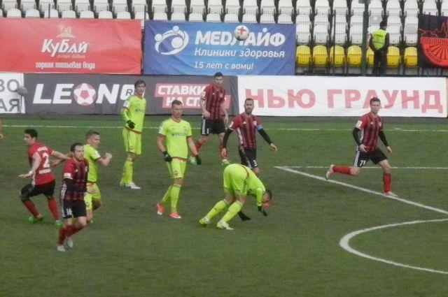 «Амкар» сразгромным счётом проиграл ЦСКА в столице