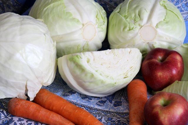 Капусту и морковь также проверили на содержание вредных веществ.