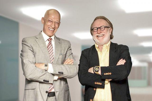 Основатели клиники Хайнрих Шнайдер и доктор Томас Бек.