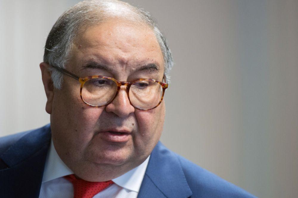 Замыкает десятку самых богатых бизнесменов России владелец «Металлоинвеста» Алишер Усманов с 12,5 млрд долларов.