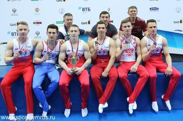 Пензенские гимнасты завоевали бронзовые медали начемпионате РФ