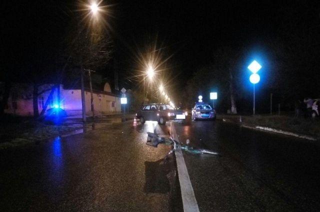 Нетрезвый велосипедист попал под колеса авто вБуденновске