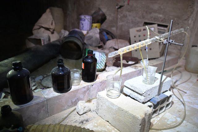 Усирийских боевиков отыскали американские ракеты