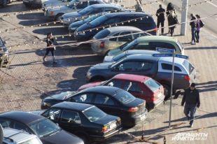 Найти свободное место для автомобиля в центре города не всегда просто.